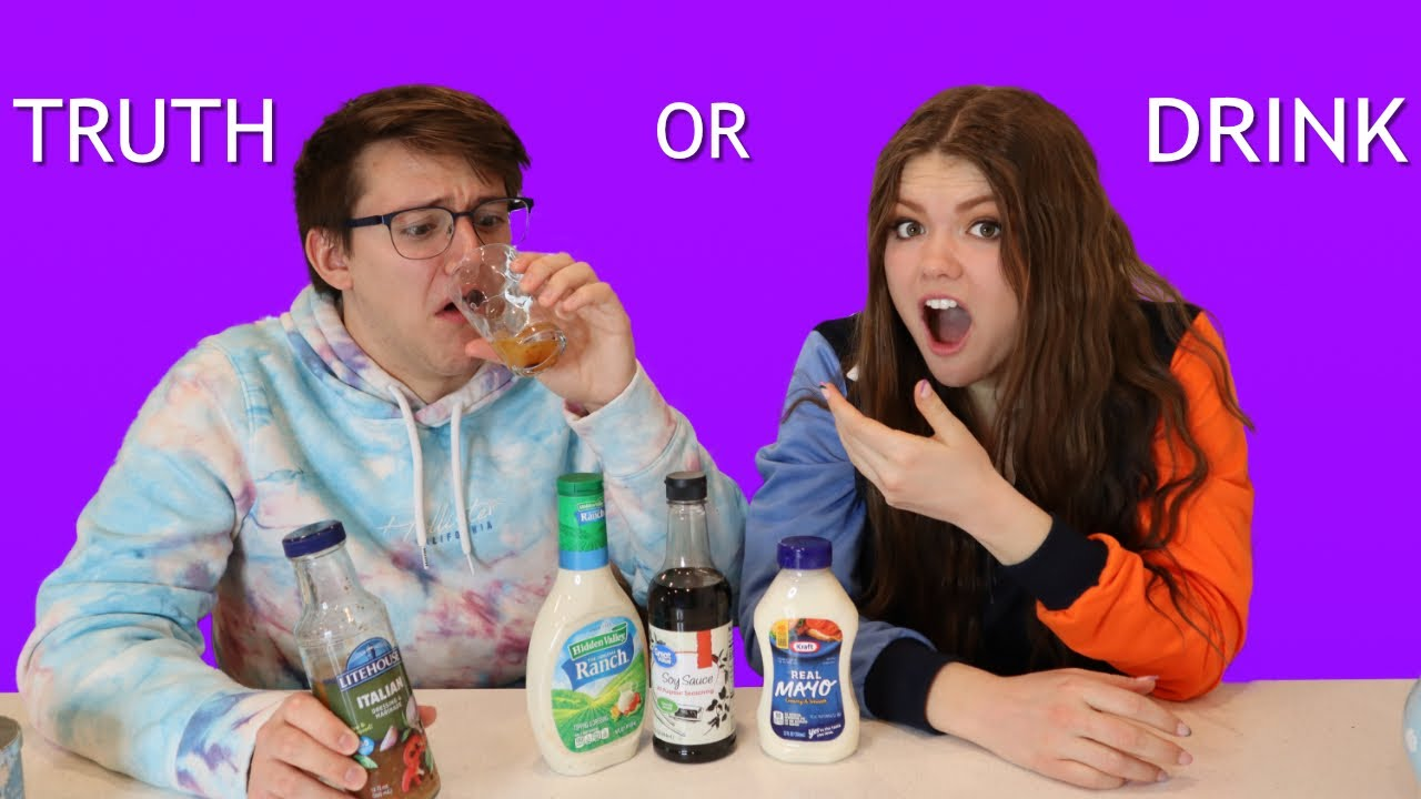 Truth or Drink CHALLENGE! *We spill the tea.*