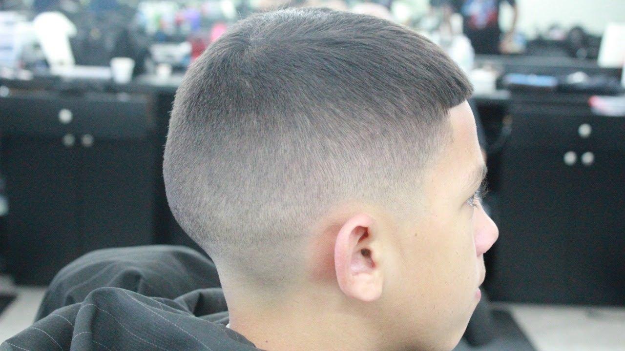 Bald Fade Haircut Kids 92