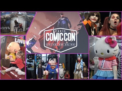 [VLOG] Salon Comic Con Paris - Studio Bubble Tea Paris Comic Con