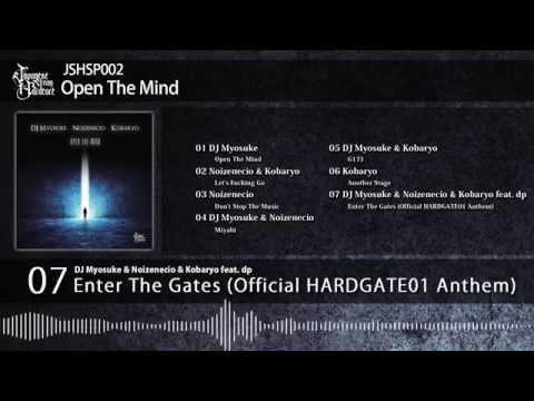 [JSHSP002]DJ Myosuke / Noizenecio / Kobaryo - Open The Mind
