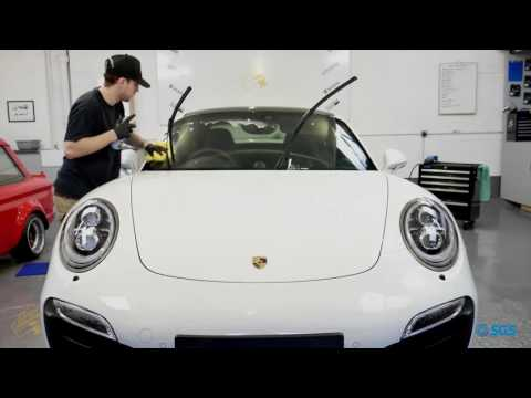Porsche 911 Turbo S - Drive Detailing team up with SGS Engineering