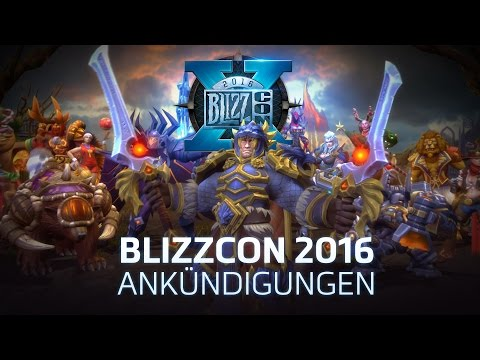 Heroes of the Storm – Ankündigungstrailer zur BlizzCon 2016 (DE)