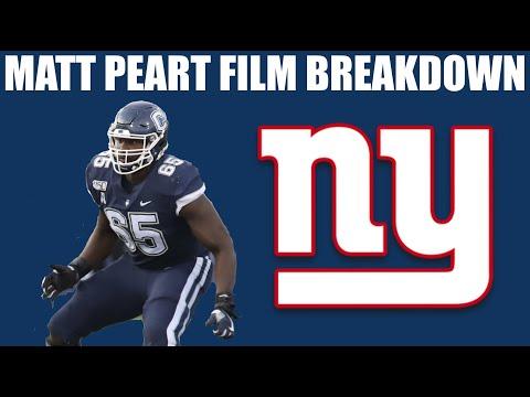 Breaking down and analyzing New York Giants 3rd round draft pick Matt Peart