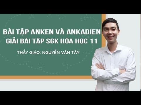 [ Giải bài tập sách giáo khoa hóa học 11 ] – Bài Luyện tập Anken và Ankadien
