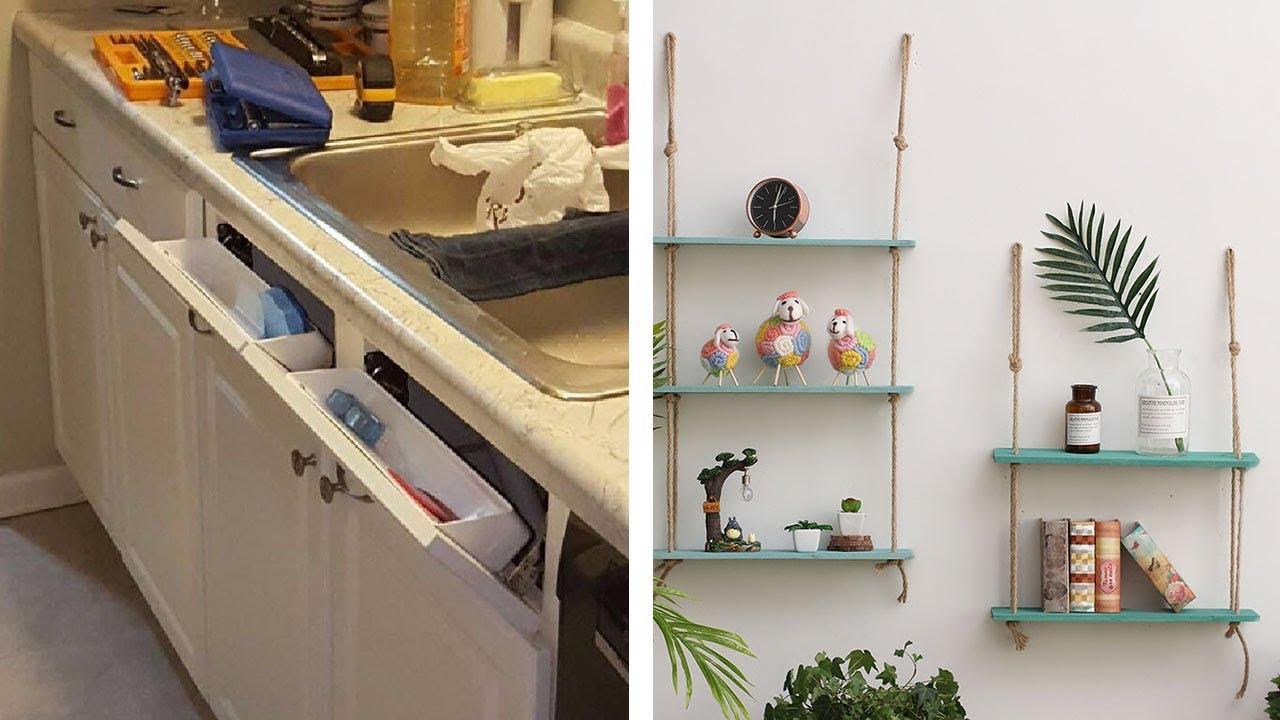 36 Simple Home Storage Organizing Ideas