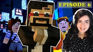 FULL Minecraft Story Mode Episode 6 - A PORTAL TO MYSTERY!