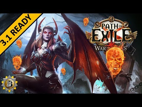 [3.1] Summon Raging Spirit - Necromancer Witch - Path of Exile War For The Atlas - Abyss