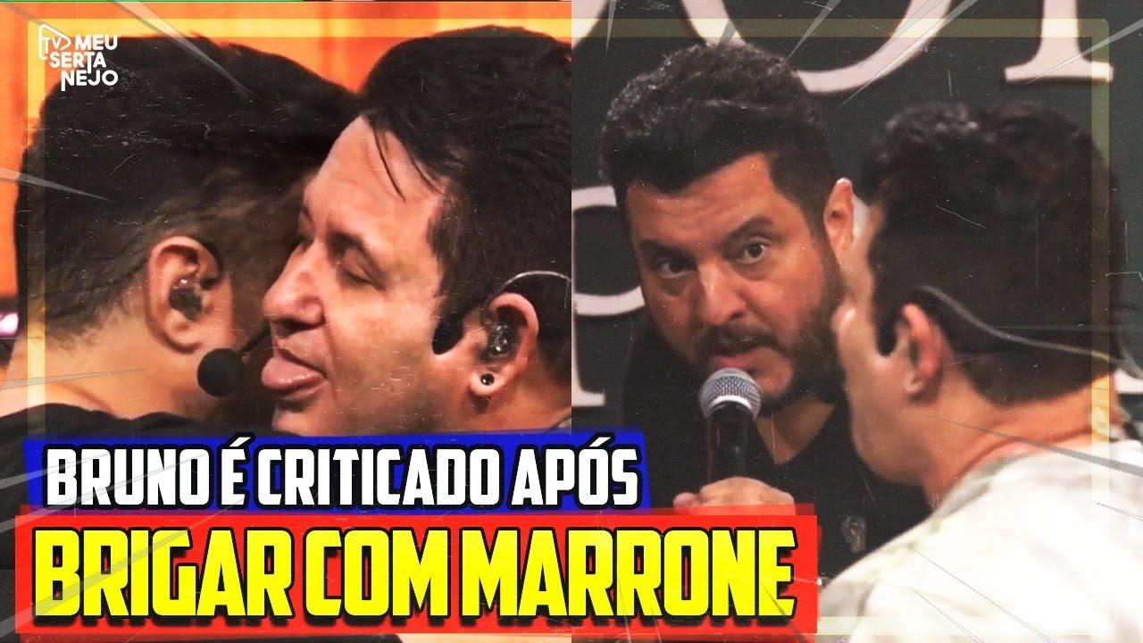 PÚBLICO CRITICA BRUNO após BRIGAR com MARRONE em LIVE!