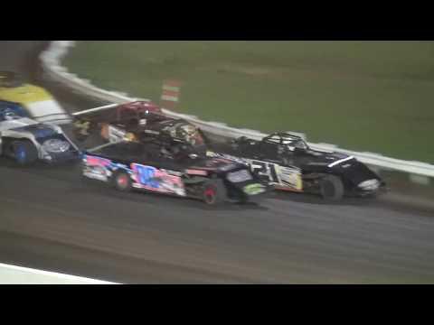 Darkside Topless Weekend Special Modified B-Main 3 Farley Speedway 10/20/17