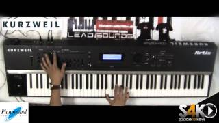 Kurzweil Artis stage piano - jamming part 2 by S4K ( Space4Keys Keyboard Solo )