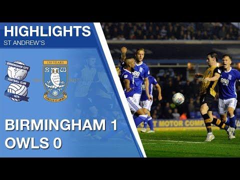 Birmingham City 1 Sheffield Wednesday 0   Extended highlights   2017/18