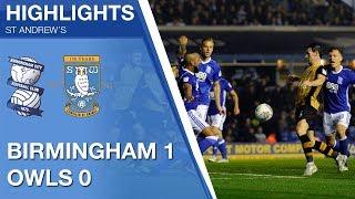 Birmingham City 1 Sheffield Wednesday 0 | Extended highlights | 2017/18
