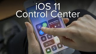 Hands-on with Control Center in iOS 11