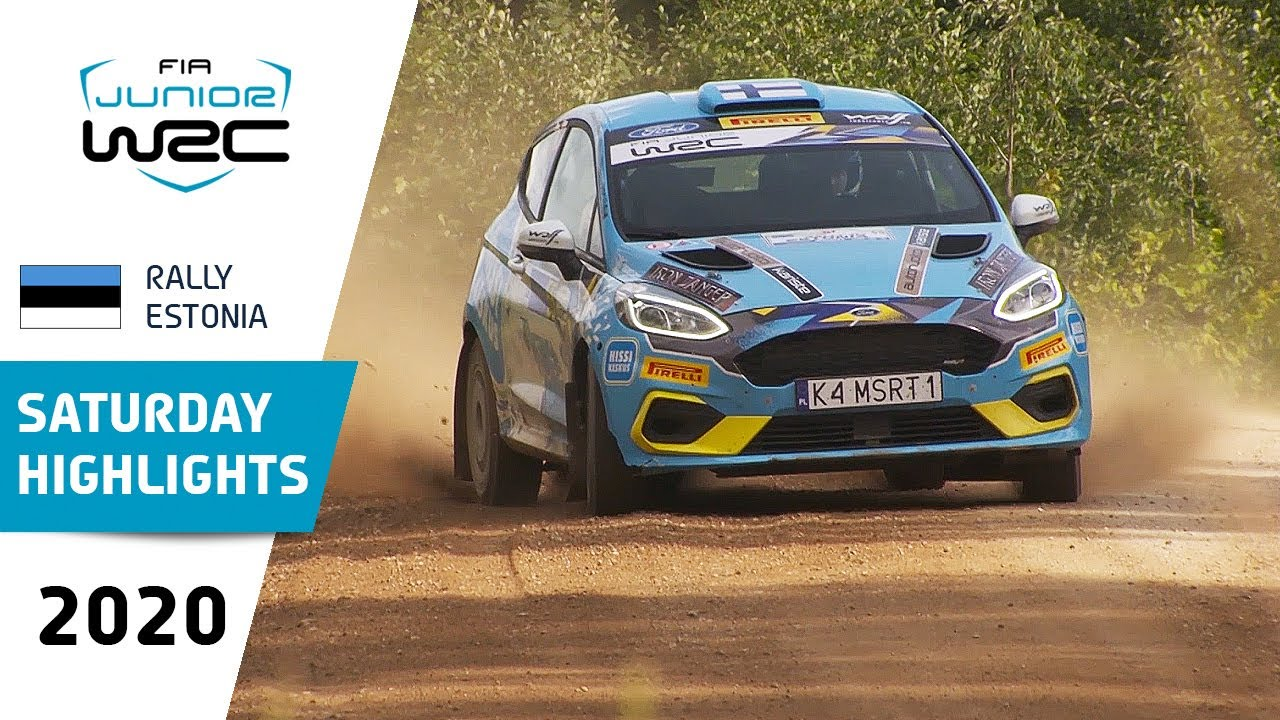 Junior WRC - Rally Estonia 2020: Saturday Highlights