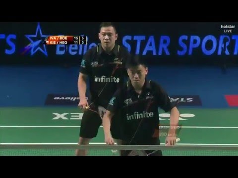 Koo Kien Keat Tan Boon Heong vs Mathias Boe Vladimir Ivanov HD