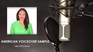 American Voiceover - MBA Program