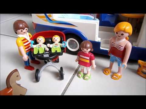 Film playmobil : Le camping partie 1