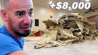 Found MOLD After Demolition! Flooded Basement Update!