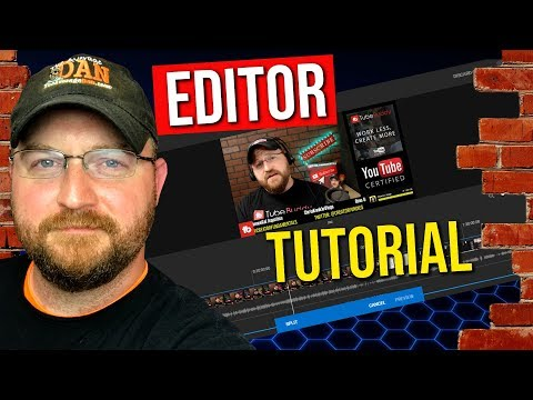 How To Use YouTube Video Editor 2018