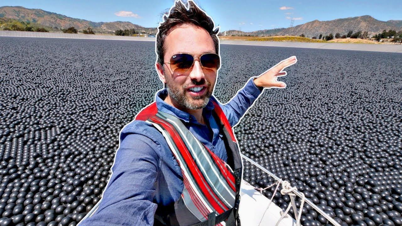 ¿Por qué hay 96000000 de Bolas en esta Reserva de Agua?