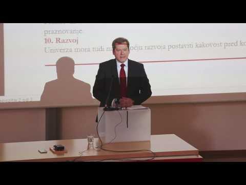 Prof. dr. Igor Papič, kandidat za novega rektorja Univerze v Ljubljani