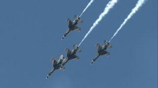 2018 New York Air Show - USAF Thunderbirds