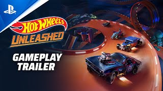 Hot Wheels Unleashed - Gameplay Trailer | PS5, PS4