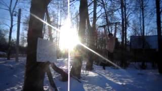 катания на тарзанке голышом  в феврале (-20!)