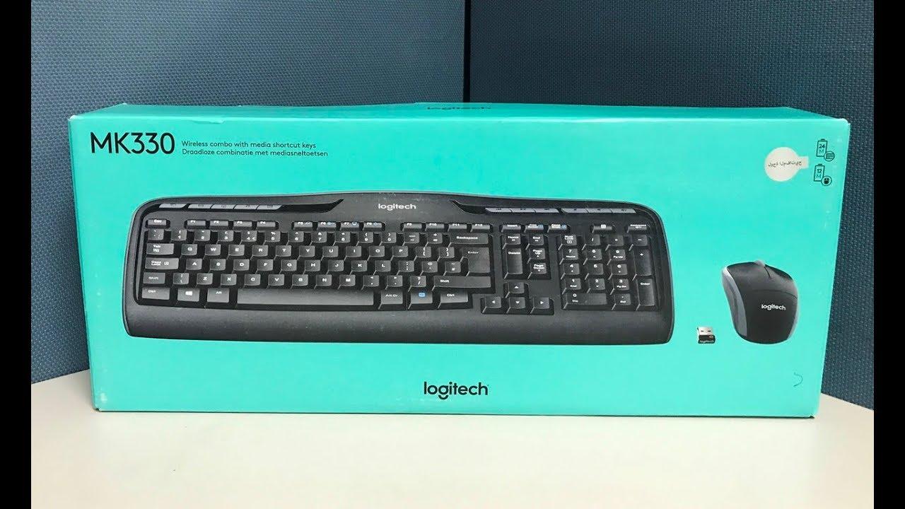 Logitech Wireless Combo MK330 Keyboard and Mouse