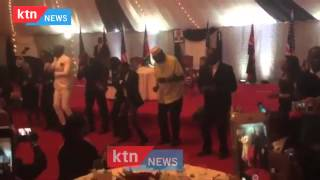 President Obama Dance Sura yako with Sauti Soul