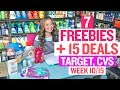 ★ 7 FREEBIES - Target & CVS Coupon DEALS (Week 10/15-10/21)