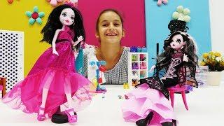 Дракулаура и стильный шоппинг Монстер Хай - Видео для девочек