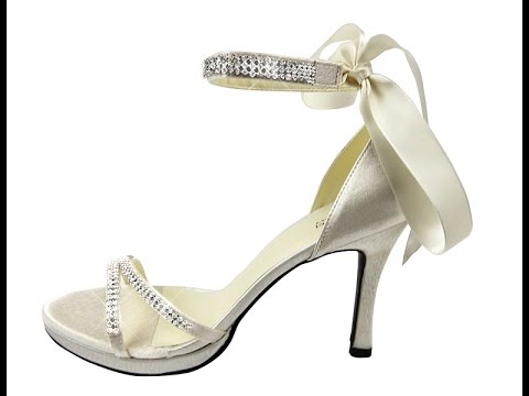 Brides Favourite Swarovski Crystals Wedding Shoes
