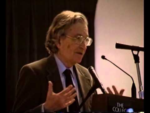 "Noam Chomsky ""The Responsibility of Intellectuals"""