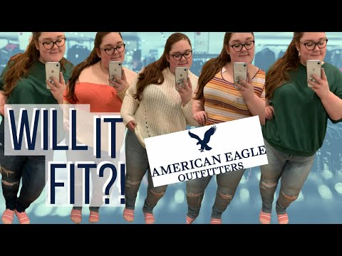 Plus Size | Inside The American Eagle Dressing Room!