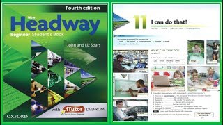 (Update) New Headway Beginner Student's Book 4th :Unit.11 -I can do that !