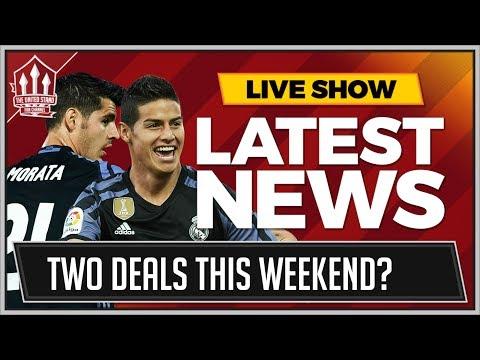 James RODRIGUEZ & Alvaro MORATA Deals Done? FABINHO & PERISIC OVER? MAN UTD Transfer News