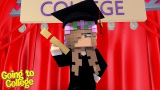 LITTLE KELLY IS GOING TO COLLEGE?!   Minecraft Little Kelly