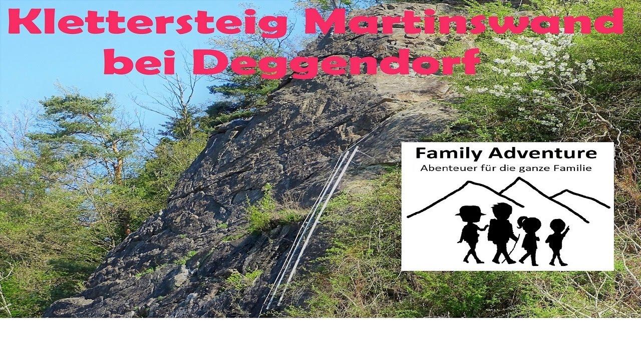 Klettersteigset Worauf Achten : Klettersteig martinswand bei deggendorf youtube