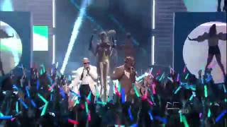 Pitbull feat Ne-Yo,Nayer - Give Me Everything LIVE [Premios Juventud 2011]