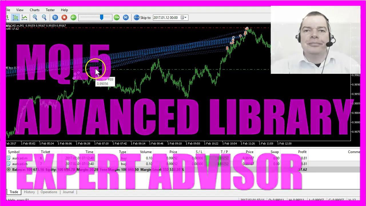 Mql5 Tutorial Advanced Library Expert Advisor Youtube