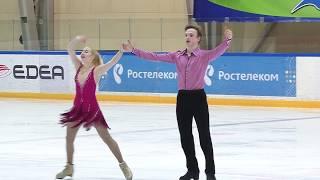 Анастасия ШАКУН   Даниил РАГИМОВ КТ, Финал Кубка России Ростелеком