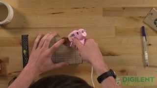 Boardbot Demo - Cheap Robot Chassis Anyone Can Make!