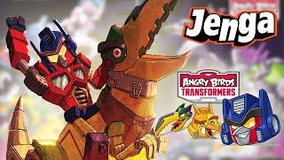 Jenga Grimlock - Angry Birds Transformers
