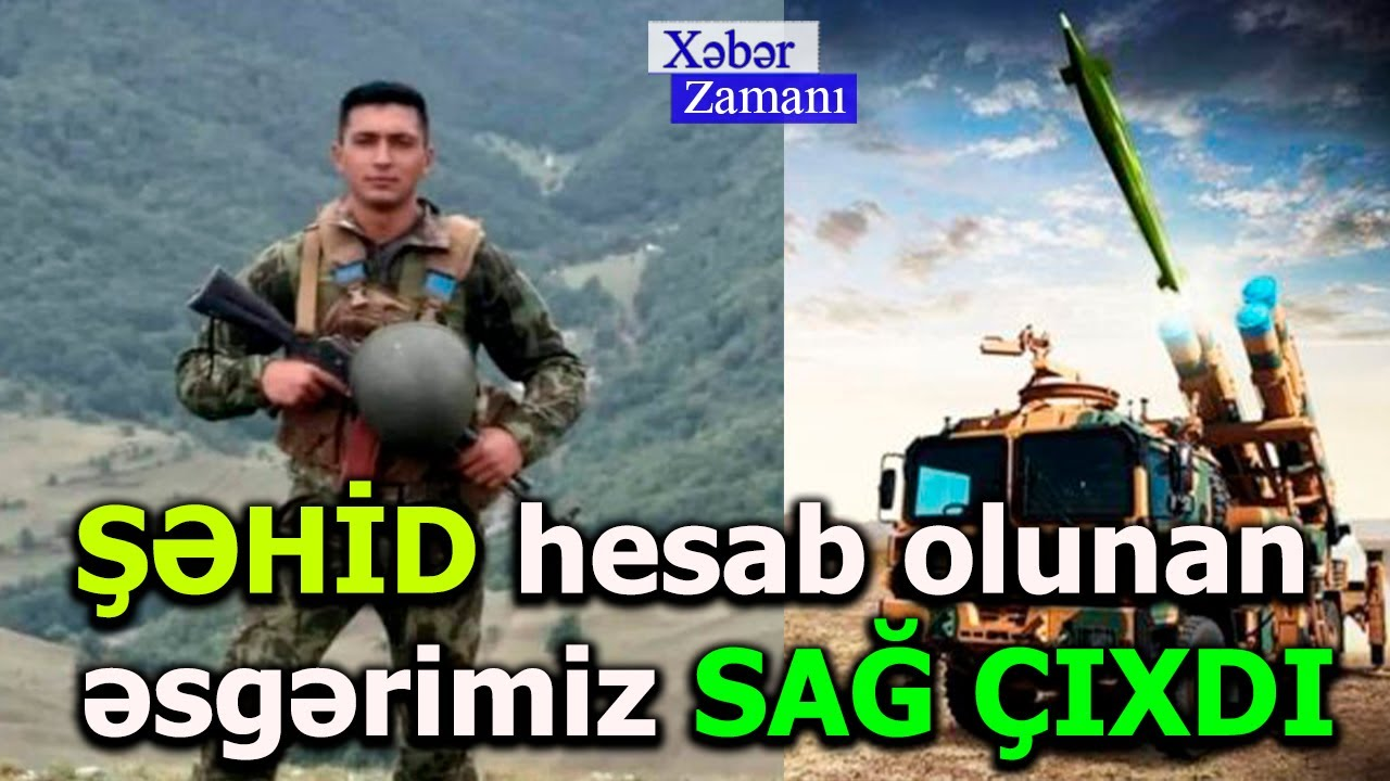 ŞƏHİD hesab olunan əsgərimiz SAĞ ÇIXDI - FOTO