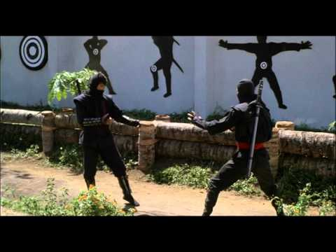 American Ninja:Les mechants Ninjas se font exploser face a Joe et ses potos