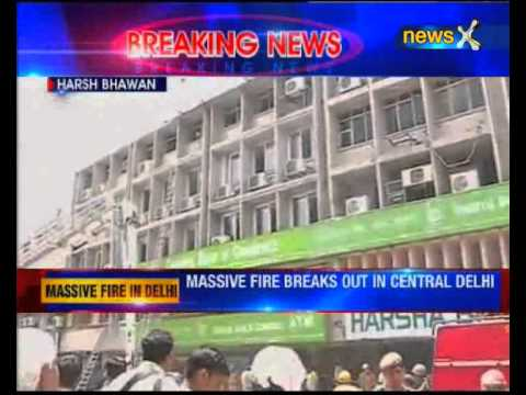 Delhi: Fire breaks out at Connaught Place bank