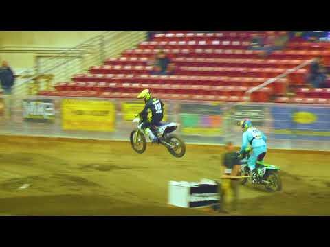 10-27-2018 Monroe WA,   Whr Arenacross, 450 Pro Heat 1,  #476 Collin Jurin Battles #910 Carson Brown