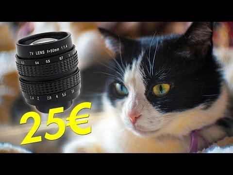 OBIETTIVO DA 25€ INCREDIBILE! • Recensione Fujian 35mm f/1.7 CCTV per SONY