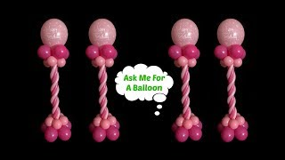 Birthday Balloon Centerpieces Without Stand